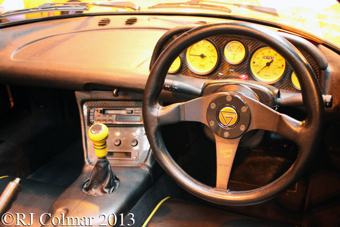Ginetta G.33, Gurston Down, Classic Motor Show, NEC, Birmingham,