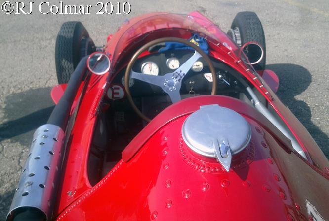 Maserati 250F, Test Day, Mallory Park