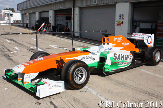 Force India Mercedes VJM06, Young Driver Test, Silverstone