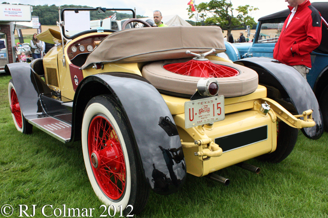 Stutz Bearcat, Classics at the Castle, Sherborne Castle