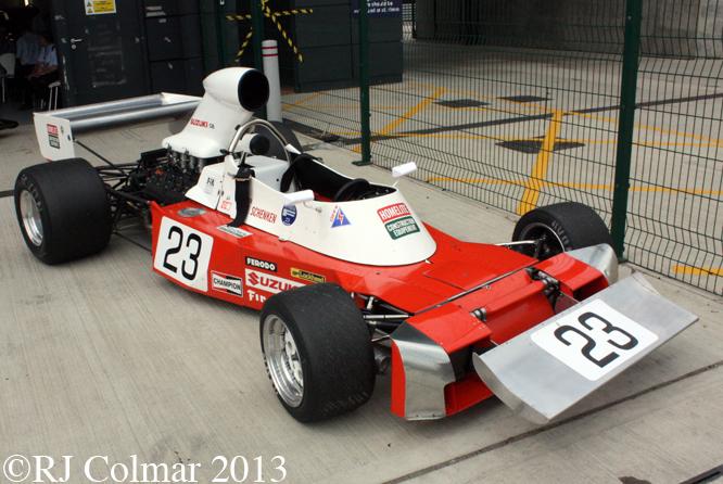 Trojan Cosworth T103, Silverstone Classic, Silverstone