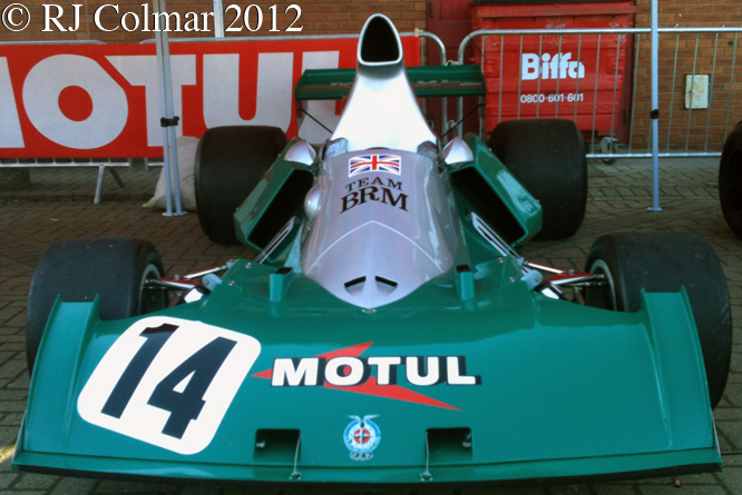 BRM P201, BRM Day, Bourne