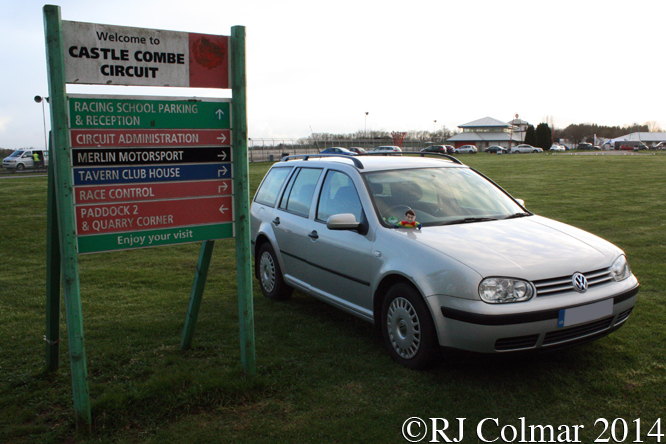 Volkswagen Golf IV, Great Western Sprint, Castle Combe