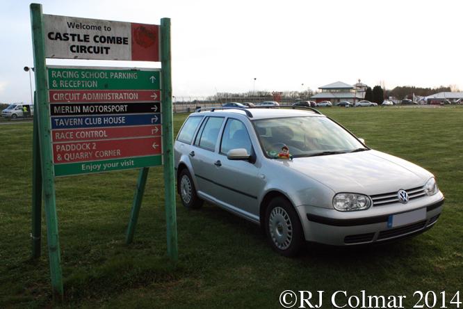 Volkswagen Golf IV, Great Western Sprint, Castle Combe