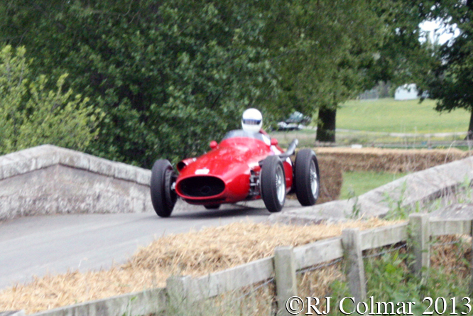 Maserati 250F, Rob Hall, Cholmondeley Pageant Of Power