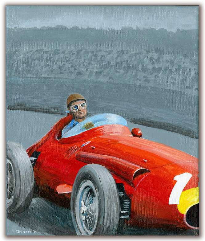 Maserati 250F, by Paul Chenard