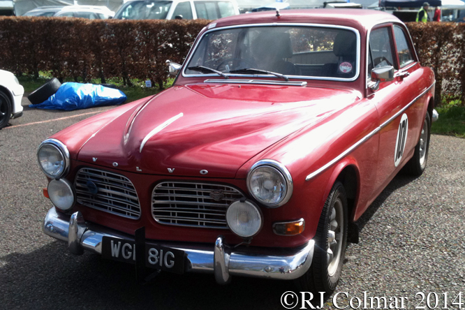 Volvo Amazon, Great Western Sprint, Castle Combe