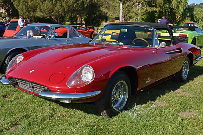 Ferrari 365 California Spyder, Marin Sonoma Concours d'Elegance
