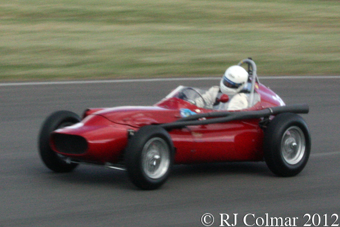 Tec-Mec F415, Tony Wood, Goodwood Revival