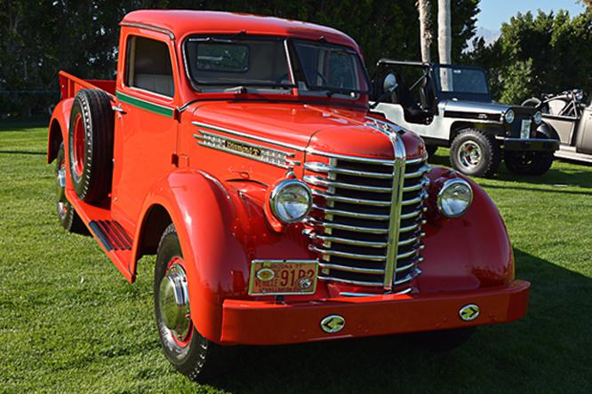 Diamond T Pickup, Desert Classic Concours d'Elegance