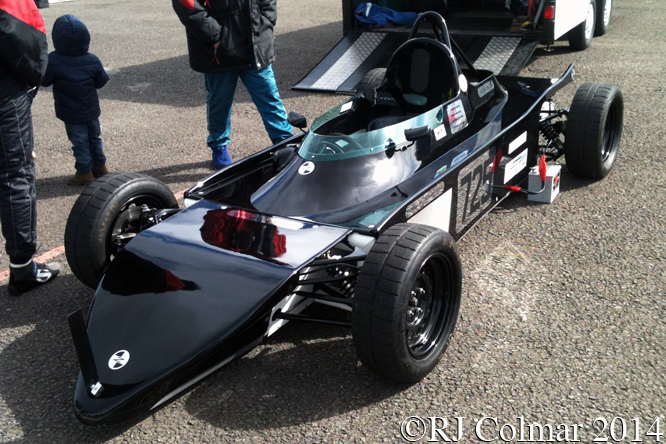 Zeus ZR 163, Great Western Sprint, Castle Combe