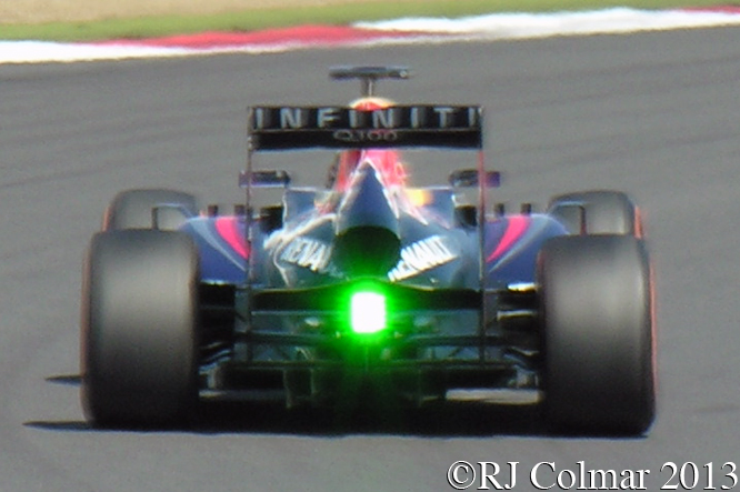 Red Bull RB9, Vettel, Young Driver Test, Silverstone