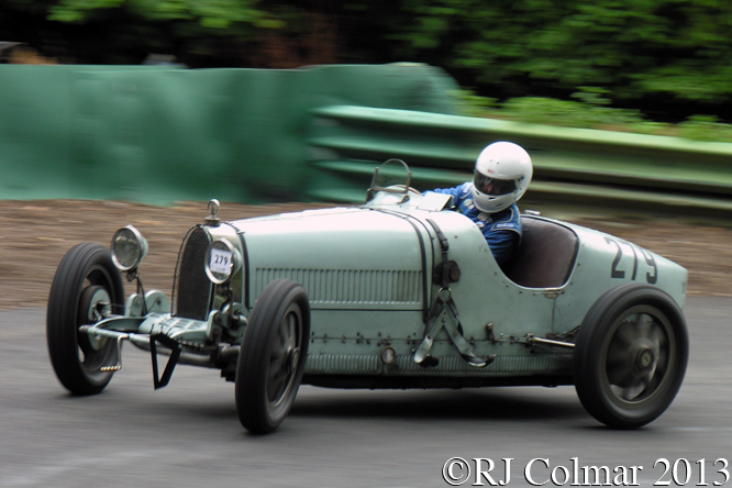 Bugatti Type 39, David Hands, VSCC, Prescott