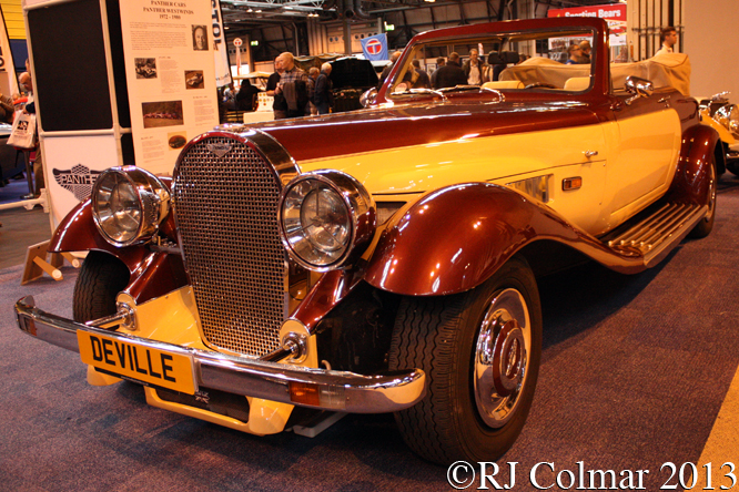 Panther De Ville Convertible, Classic Motor Show, NEC, Birmingham