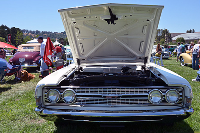Ford Torino GT Convertible, Marin Concours d'Elegance