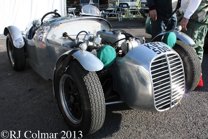 Cooper MG T21, Autumn Classic, Castle Combe