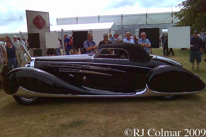 Bugatti Type 57C Van Vooren Cabriolet, Goodwood Festival of Speed