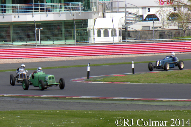 ERA 80th Anniversary Trophy, Gillies, Morris, Topliss, VSCC Spring Start, Silverstone