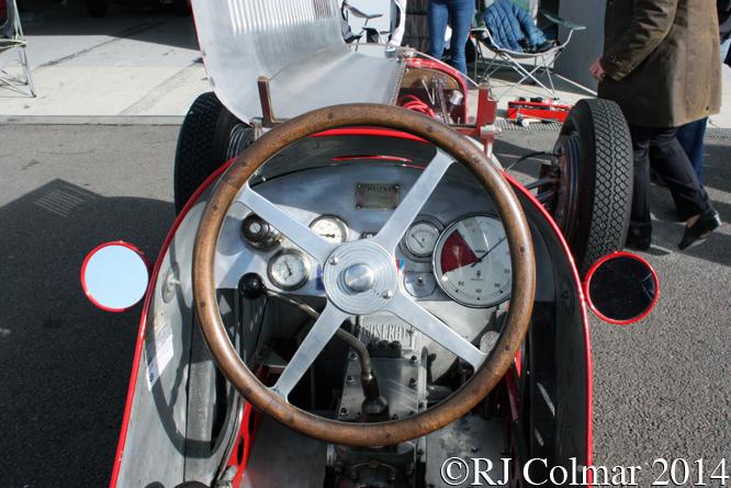 Maserati 8CM, VSCC, Spring Start, Silverstone
