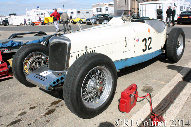 Riley, Super Rat, VSCC Spring Start, Silverstone