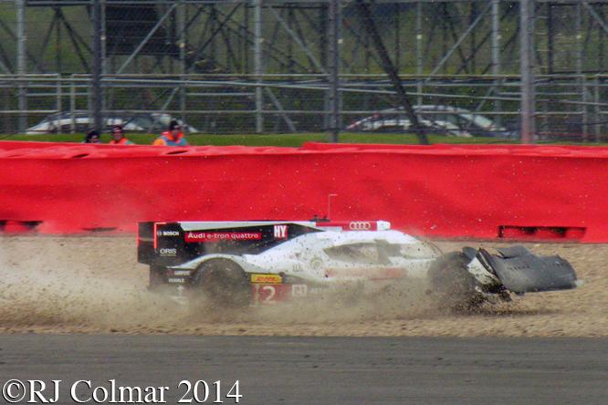 Audi R18 e-tron quattro, Treluyer, 6 Hours Of Silverstone