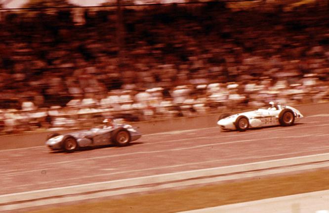 Rathman Watson, Sachs Ewing, 1960 Indianapolis 500