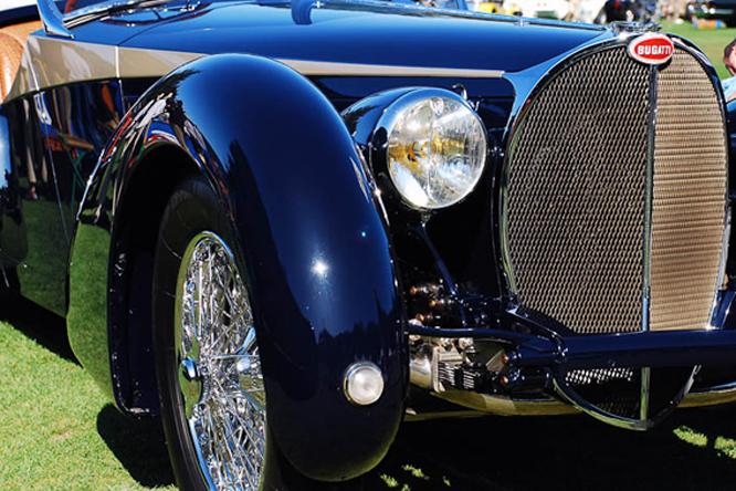 Bugatti Type 57SC, Giles Corsica Roadster, Hillsborough Concours d'Elegance