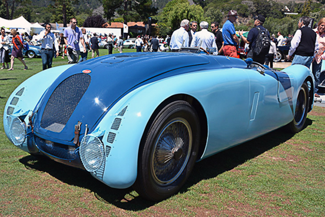 Bugatti Type 57G, The Quail