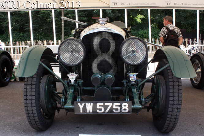 Bentley 4 1/2 Litre, Goodwood Festival of Speed