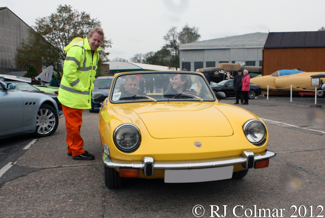 FIAT 850 Spyder, Auto Italia, Brooklands