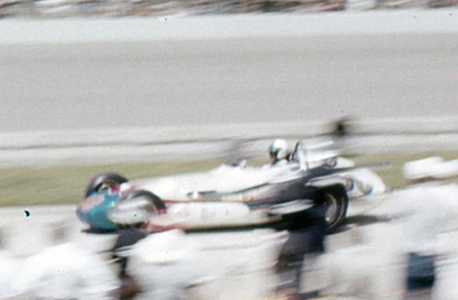 Jones, Agajanian , Watson, 1963 Indy 500