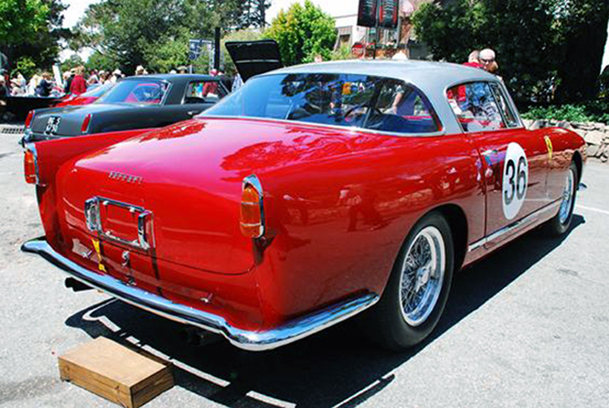 Ferrari 250 GT Boano, Concours on the Avenue, Carmel by the Sea