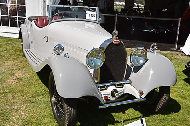 Bugatti Type 44, The Quail Auction, Geoffrey Horton