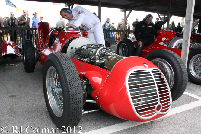 Maserati 4CLT, Goodwood Revival