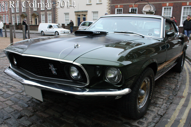 Ford  Mustang 428 Cobra Jet Sports Top, Avenue Drivers Club, Queen Square, Bristol