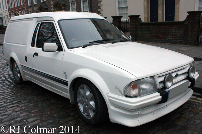 Ford Escort RS Van, Avenue Drivers Club, Queen Square, Bristol