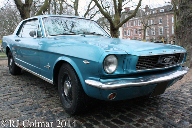 Ford Mustang, Avenue Drivers Club, Queen Square, Bristol