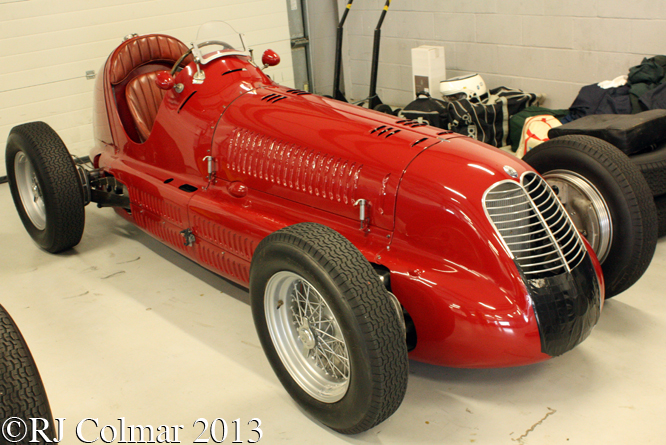 Maserati 4CL, HGPCA Test Day, Silverstone
