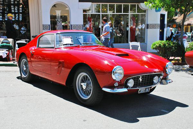 Ferrari 250 GT SWB Competizione, Concours on the Avenue, Carmel by the Sea,