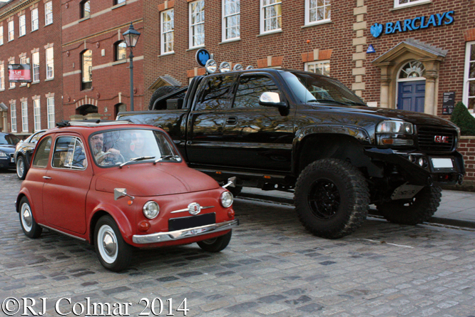 FIAT GMC, Avenue Drivers Club, Queen Square, Bristol