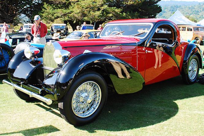 Bugatti, Type 57, Atalante, Hillsborough Concours d'Elegance