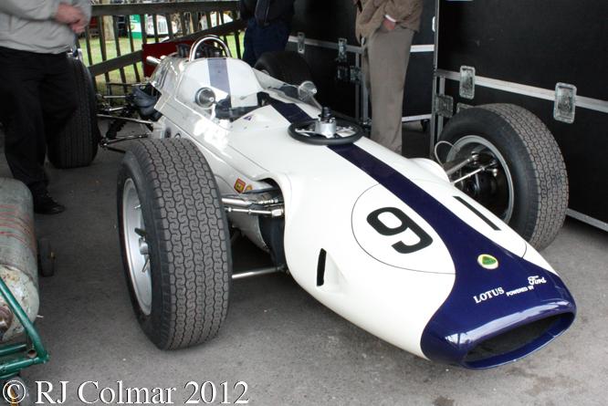 Lotus Ford 29, Goodwood Revival