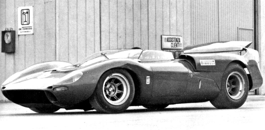 de Tomaso Sport 5000, Modena
