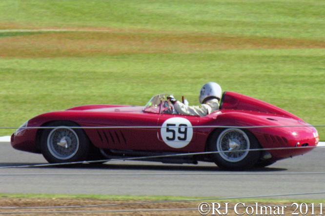 Maserati 300S, Rettenmaier, Silverstone Classic