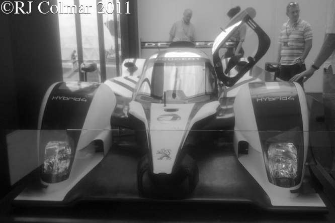 Peugeot 908 HYbrid4, Goodwood Festival of Speed