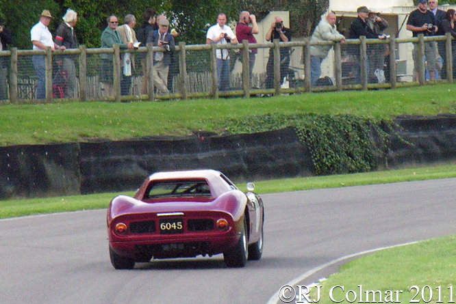 Ferrari 250 LM,  Cottingham, Goodwood Revival