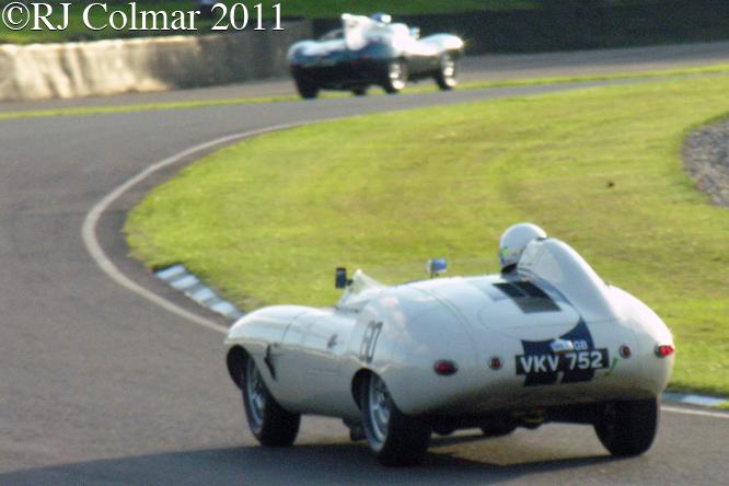Jaguar E2A, Dron, Goodwood Revival