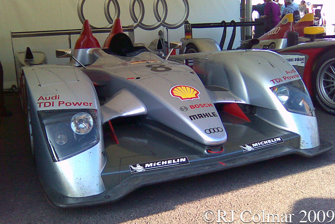 Audi R10 TDI, Goodwood Festival of Speed