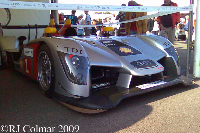 Audi R15 TDI, Goodwood Festival of Speed