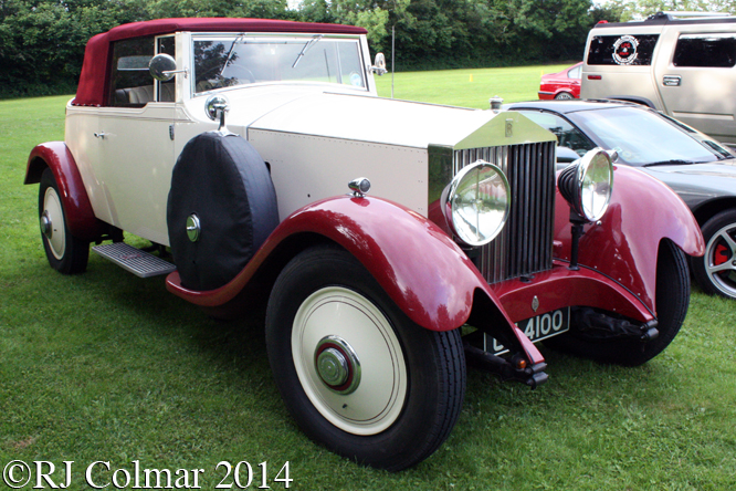 Rolls Royce Phantom II, BPMC, Redhill Village Hall